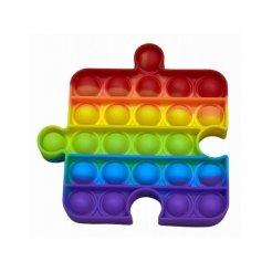 Pop It Rainbow antistresová hračka Puzzle