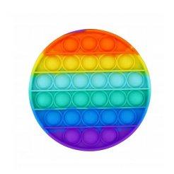 Pop It Rainbow antistresová hračka Kruh