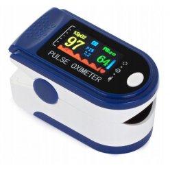 Prstový digitálny pulzný oximeter