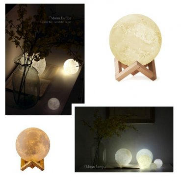 Nočná lampa 3D MOON LIGHT