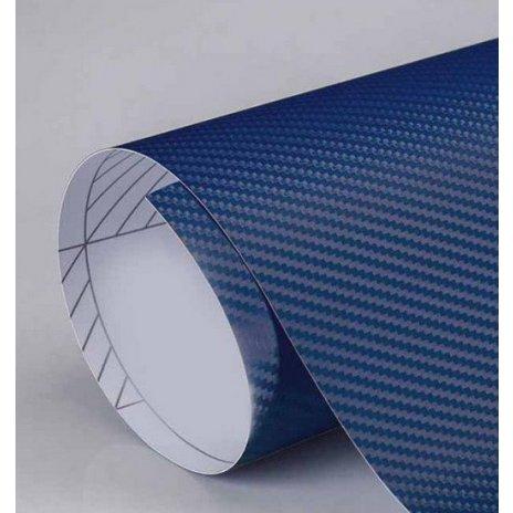 3D karbónová folia tmavo modrá (š.1,27m)
