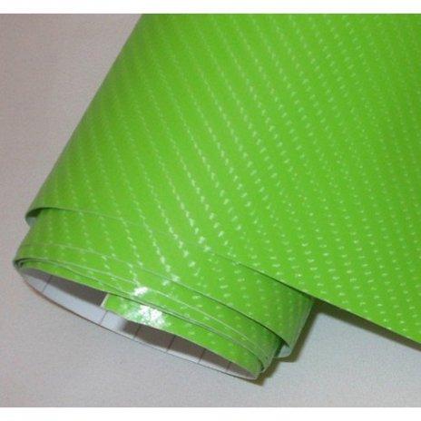 4D karbónová folia s AIR FREE zelená (š.1,52m)