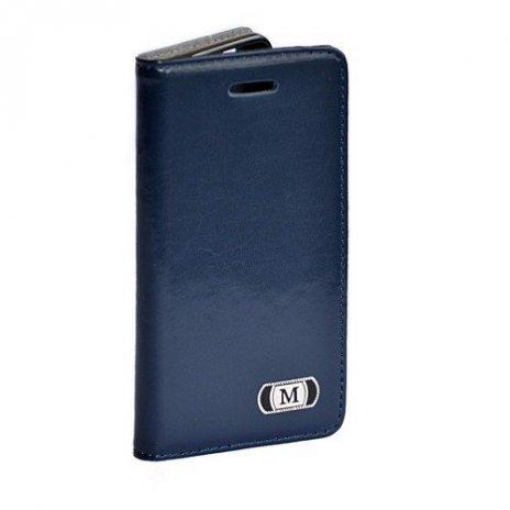 Luxusné púzdro typu kniha pre Samsung Galaxy S6 modré