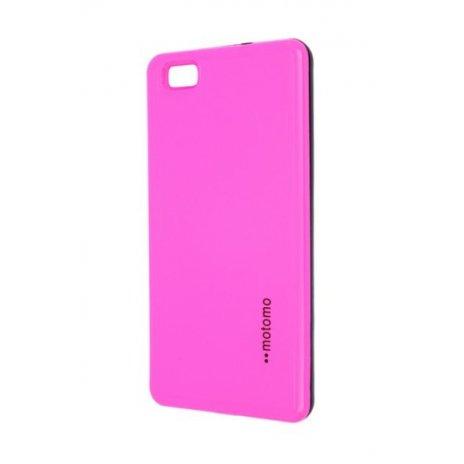 Púzdro Motomo Huawei P8 Lite ružové