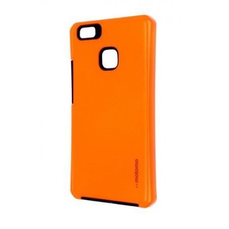 Púzdro Motomo Huawei P9 Lite reflexné oranžové