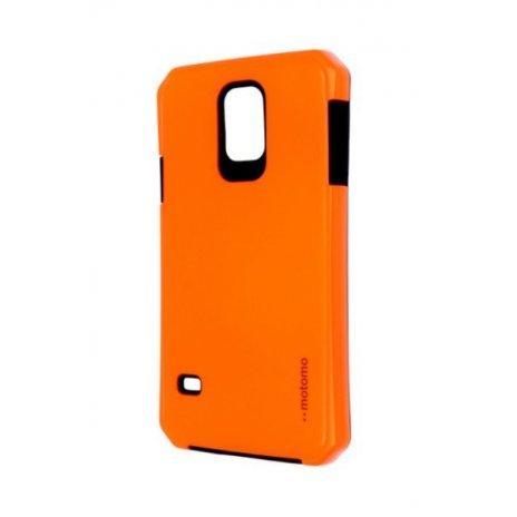 Púzdro Motomo Samsung Galaxy S5 reflexné oranžové
