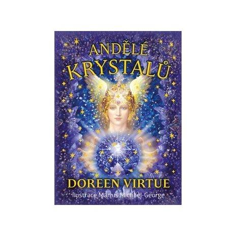 Andělé krystalů - kniha + 44 karet