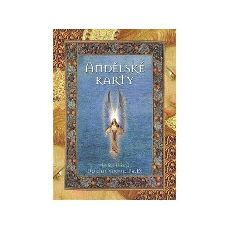 Andělské karty - kniha + 44 karet