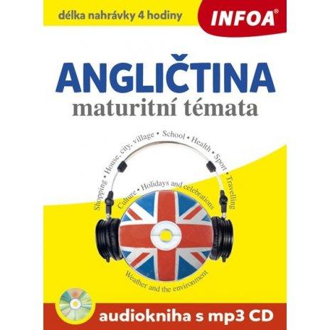 Audiokniha - Anglická maturitní témata + mp3 CD