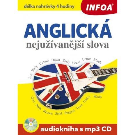 Audiokniha - Anglická nejužívanější slova + mp3 CD