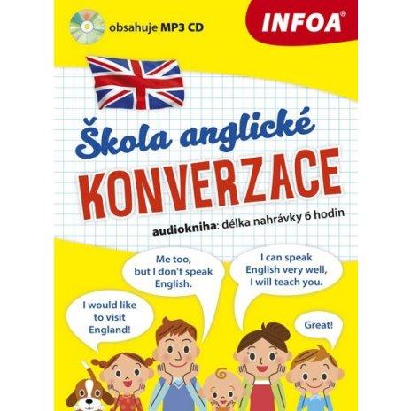 Audiokniha - Škola anglické konverzace + MP3 CD