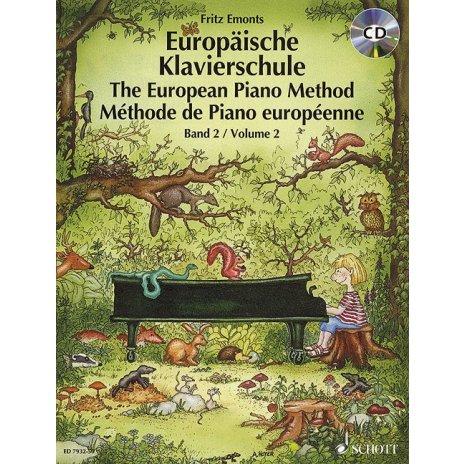 Evropská klavírní škola 2. + CD