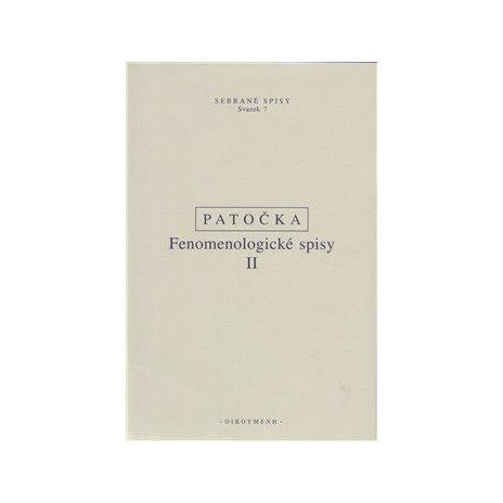 Fenomenologické spisy II