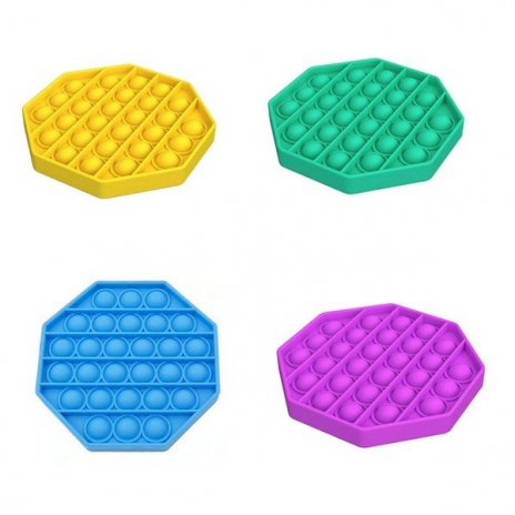 Antistress nyolcszögletes szenzoros játék Push Pop Bubble
