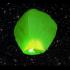 Lampión ŠTĚSTÍ zelený