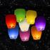 Lampiony štěstí Mix barev 8 ks