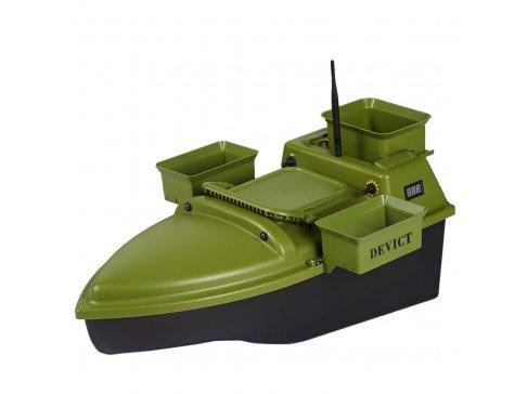 Zavážecí loďka DEVICT Tanker Triple zelená