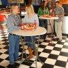 barový okrúhly stôl 83 cm LIFETIME 80362