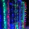 Vianočné osvetlenie - svetelný záves - 3 x 6 m farebná 600 LED