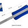 Neoprénové záťažové reflexné manžety 2 x 2 kg