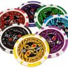 Poker set 1000 ks žetónov OCEAN Trolley