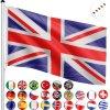FLAGMASTER hliníkový stožár - Velká Británie, 650 cm