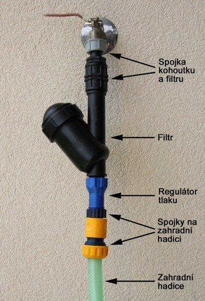 Pripojenie k vodovod. kohútiku (blister č.12)