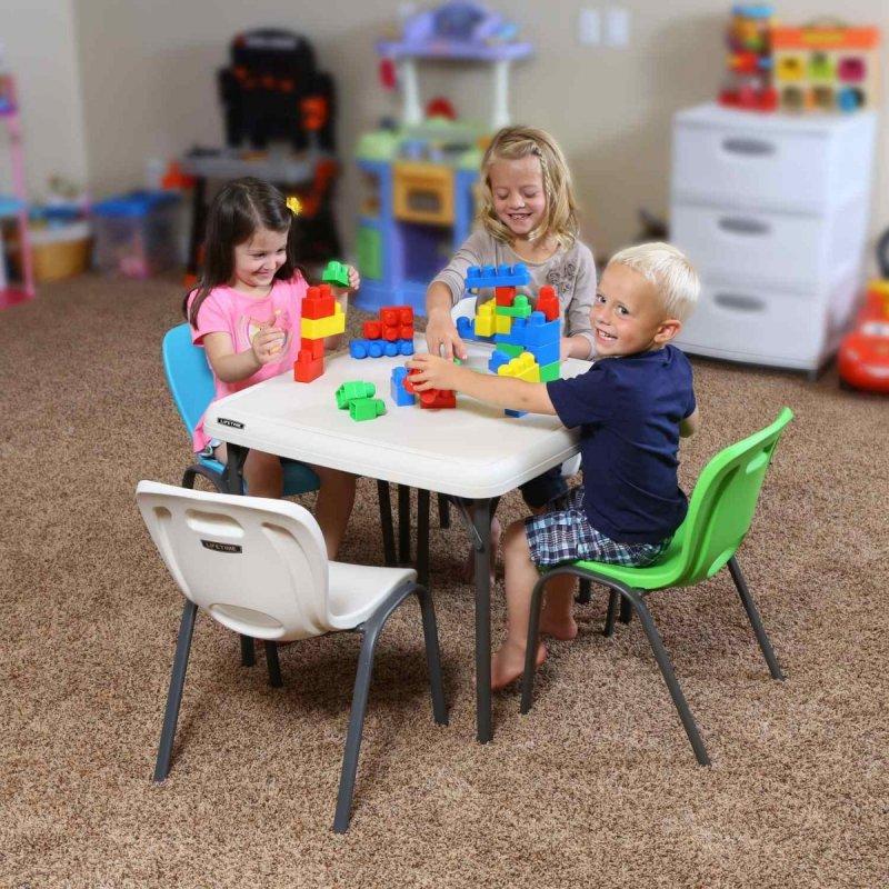detská stolička zelená LIFETIME 80474 / 80393