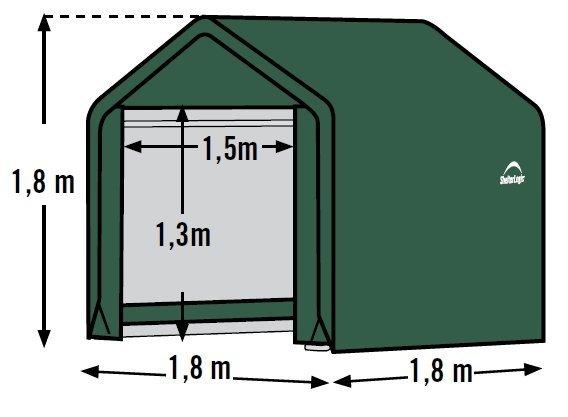 plachtový prístrešok SHELTERLOGIC 1,8 x 1,8 m - 70417EU