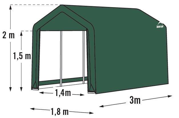 plachtový prístrešok SHELTERLOGIC 1,8 x 3,0 m - 70471EU
