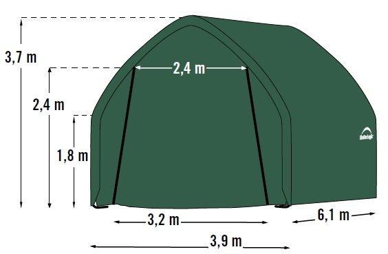 plachtová garáž SHELTERLOGIC 4,0 x 6,1 m 62730EU