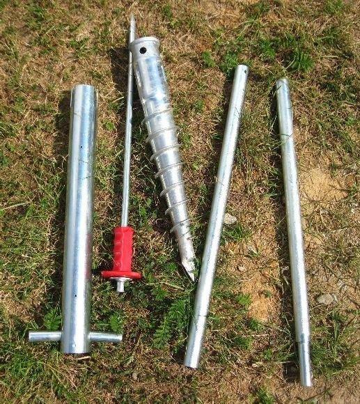 Sada 4 zemné skrutky (modely 6x4, 6x6, 2500, 3800)