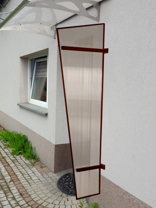 univerzálna bočná stena LANITPLAST UNI hnedá / PC