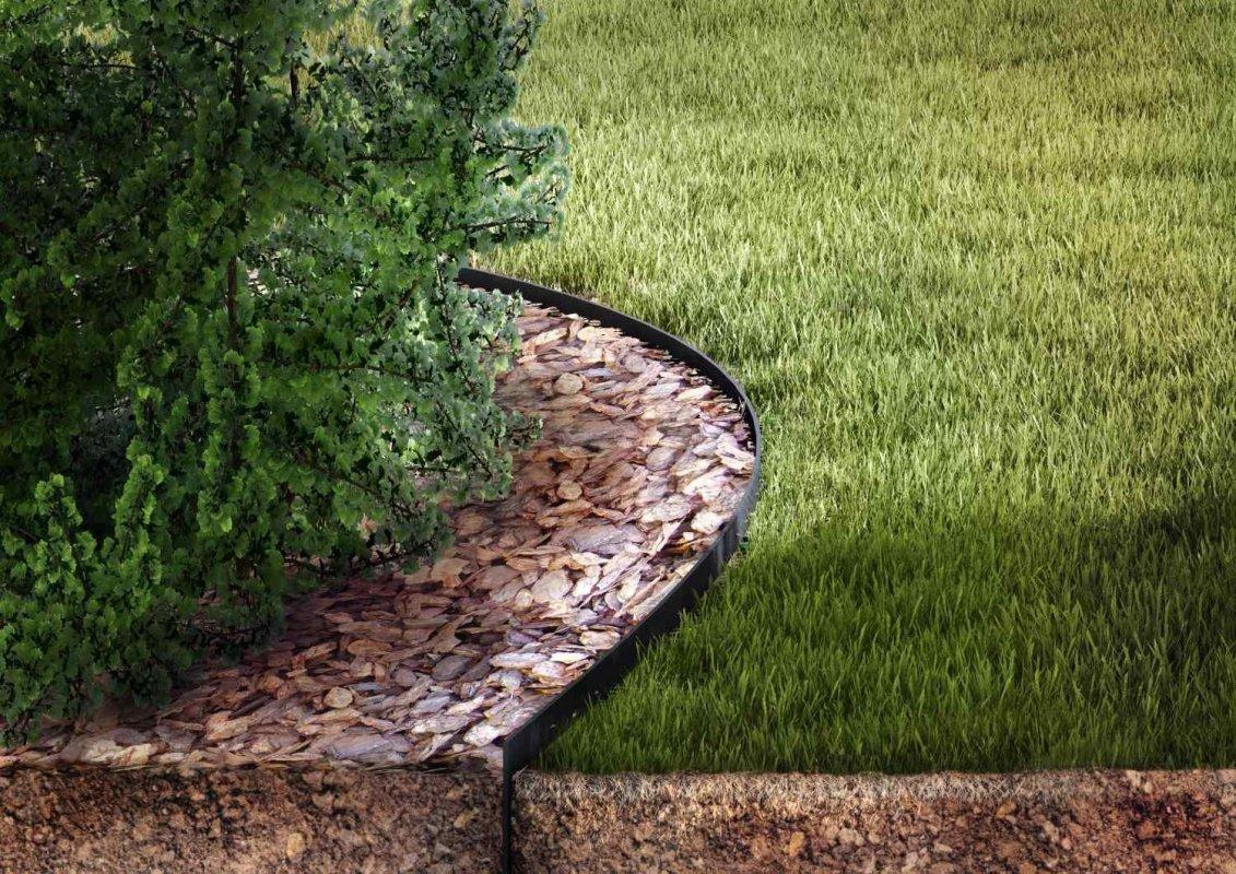 záhradný obrubník GARDEN EDGE HOBBY 10 m čierny