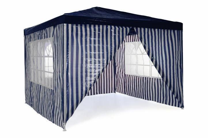 Záhradný párty stan 3 x 3 m - kráľovská modrá