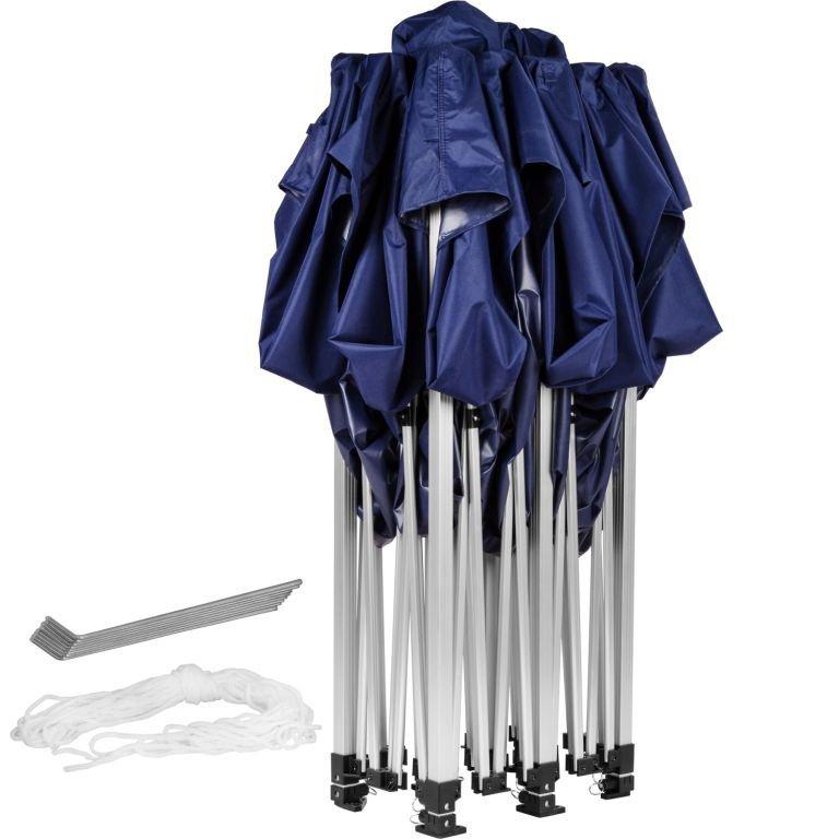 Záhradný párty stan 3 x 6 INSTENT - nožnicový - modrý
