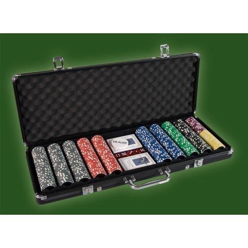 Pokerový set, 500 žetónov Ultimate black