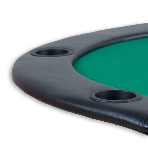 Poker podložka skladacia zelená