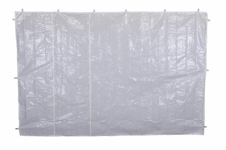 Sada dvoch bočných stien pre záhradný stan - biela - bez okien