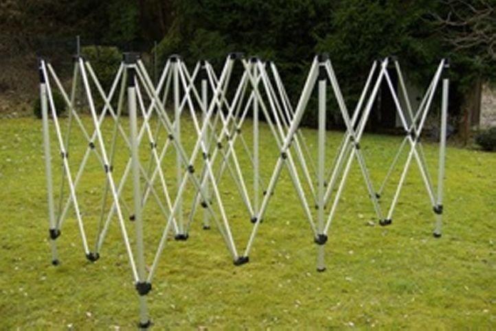 Garden Konštrukcia pre záhradný stan 3 x 6 m