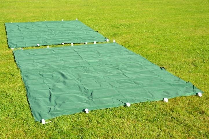 Záhradný párty stan nožnicový PROFI 3x3 m zelený + 4 bočné steny