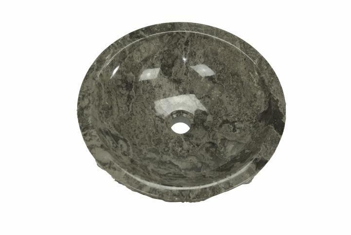 DIVERO umývadlo z prírodného kameňa Turin