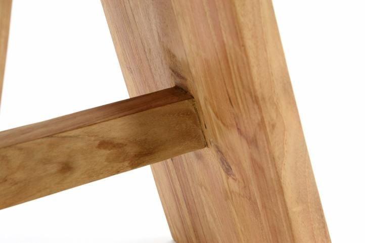 stolička z tíkového dreva divero