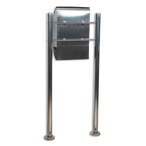 Poštová schránka nerezová 126 cm
