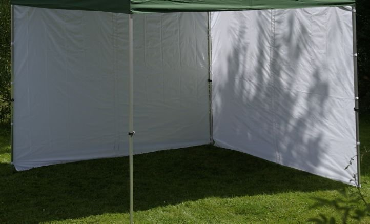 Sada 2 bočných stien pre PROFI záhradný altánok 3 x 3 m - biela