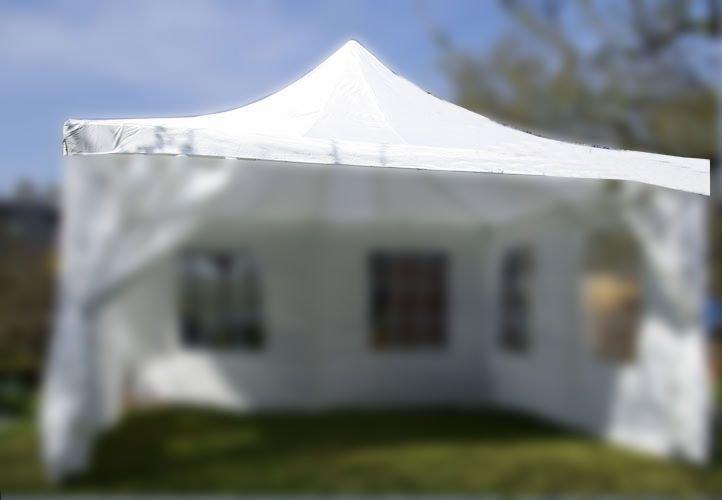 Strecha na záhradný párty stan 4 x 4 m biela