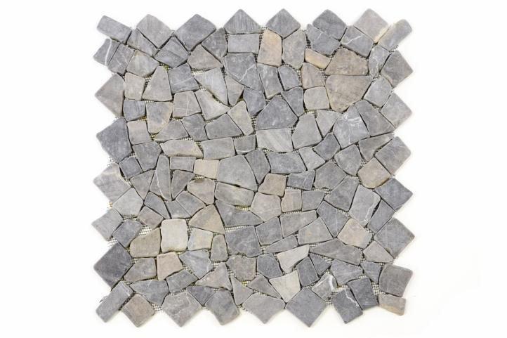 Mramorová mozaika Garth- sivá obklad 1 m2