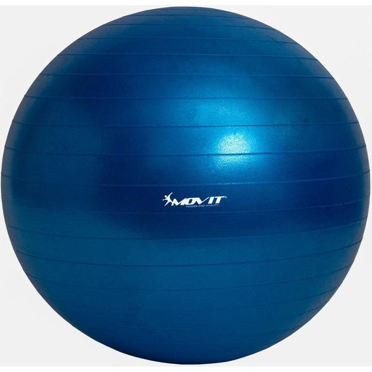 Gymnastická lopta MOVIT s pumpou - 85 cm – modrá