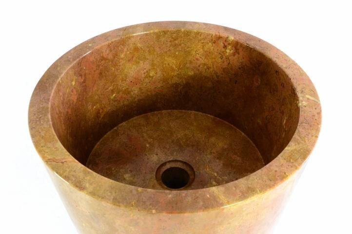 Umývadlo z prírodného kameňa Vincenza