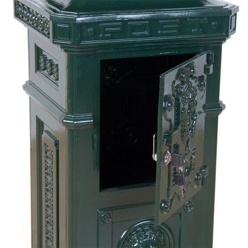 Poštová schránka antik - zelená